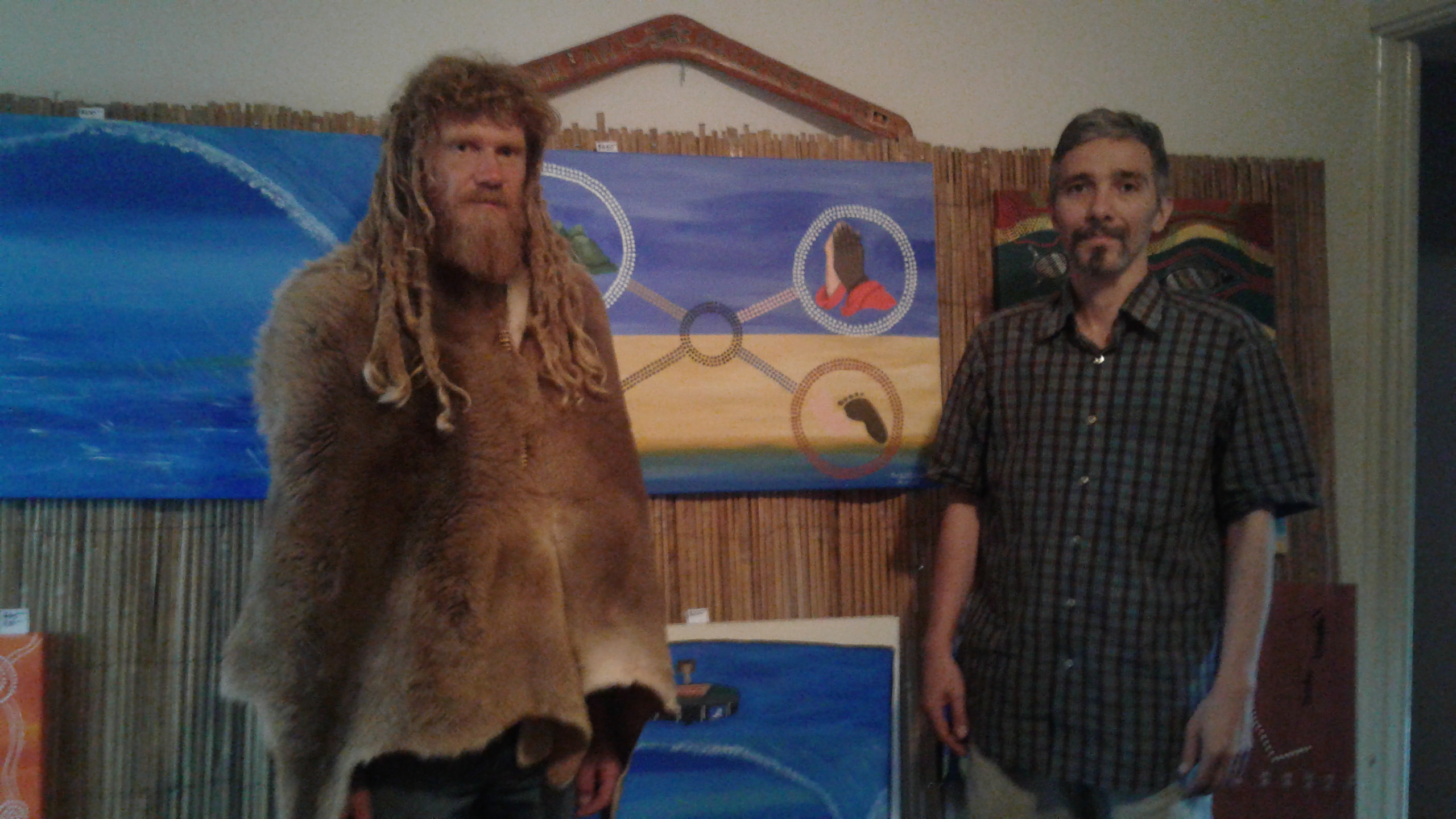 شهاب الدین چیلان-مصاحبه با بومی استرالیایی
